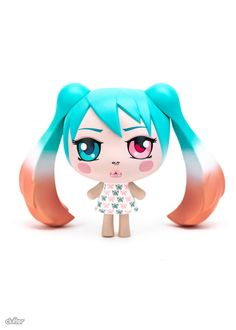 O-Miku ButterFly Colorway 5.5-inch vinyl figure by Clutter Studios Pop Surrealism, All Sale, Camilla, Vinyl Figures, One Pic, Schedule, Disney Characters, Fictional Characters, June