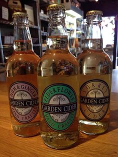 Elderflower Cider Surrey Garden Cider.  Lovely.