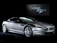 James Bond drives the Aston Martin DBS, the successor of the Vanquish, in the 007 films, Casino Royale and Quantum of Solace. Aston Martin Dbs V12, Aston Martin James Bond, Carros Aston Martin, James Bond Cars, Aston Martin Cars, My Dream Car, Dream Cars, Dream Auto, Movies