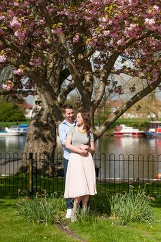 Engagement shoot by The Thames