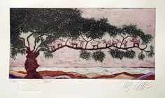 Hey, I found this really awesome Etsy listing at https://www.etsy.com/listing/171089054/etching-olive-tree-with-goats-natural