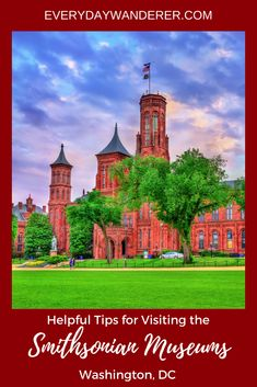 Tackling the largest museum complex in the world can be a tall task. So here are 23 helpful tips for visiting the Smithsonian museums in Washington, DC. #DC #VisitDC #WashingtonDC #Travel #TravelwithKids #FamilyTravel #TravelTips #Smithsonian #Museum
