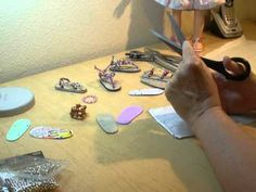 How to Make Doll Sandals with Floor Tiles Part 1