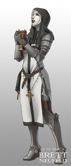 Cleric or paladin inspiration High Fantasy, Fantasy Rpg, Medieval Fantasy, Fantasy Women, Dnd Characters, Fantasy Characters, Female Characters, Fantasy Character Design, Character Concept