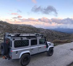 Land Rover Defender 110 Td5 Sw across life.