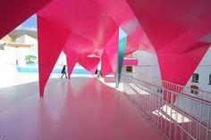 Colorful paper architecture for kids - Algodonales Spain - Julio Barreno Gutiérrez