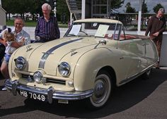 1950 Austin A90 Atlantic drophead coupe