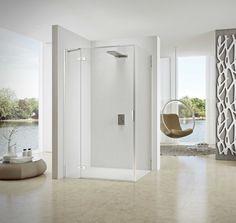 Sealskin heeft deze douchewand zo ontworpen dat alle slimme techniek zoveel mogelijk subtiel verborgen is en het fraaie design van de douche de hoofdrol speelt.