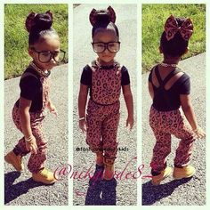 .Girls just wanna have fun, and lil mamma has style for days....too cute