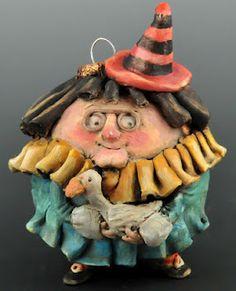 Doreen Kassel ornament. I love her work!!