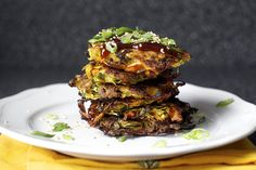 We love these pancakes, delicious and fun!  japanese vegetable pancakes, obsessed