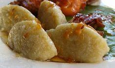 Chlupaté knedle Baked Potato, Sweet Potato, Keto Bread, Dumplings, Gnocchi, Side Dishes, French Toast, Food And Drink, Pasta