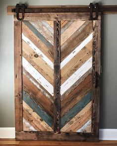 Happy Monday! Here's something from @sonsofsawdust to get your creativity flowing. This beauty was made from remnants of several deconstructed barns. Isn't it awesome? Shown with our Horseshoe hardware. #rusticahardware. PS- we're in the process of going through all the giveaways and will announce the winners Tuesday. Thanks so much for all your support!