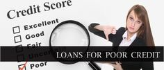 If you are looking for loans for poor credit then the best thing to do is approa. If you are looking for loans for poor credit then the best thing to do is approach a loan broker. Credit Check, Credit Score, Guaranteed Loan, Loans For Poor Credit, Money Problems, Things To Do, Good Things, The Borrowers, People