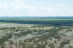 Views from the dinosaur museum at Winton, Queensland