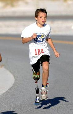 Ben Baltz Amputee Paratriathlete Running