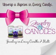 I am a Jewelry in Candles Rep! Check out my online store http://jewelryincandles.com/store/amy_beard