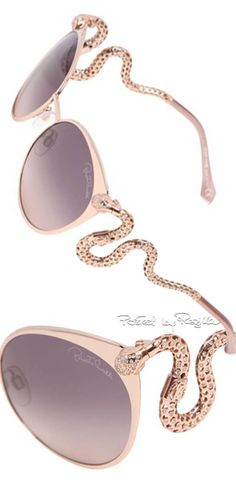Regilla ⚜ Una Fiorentina in California Eye Glasses, Roberto Cavalli, Boho Outfits, Casual Outfits, Specs, Four Eyes, Women's Accessories, Gold Fashion, Ray Ban Sunglasses