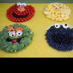 Sesame street healthy snacks