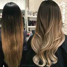 Transformation Tuesday... beautiful melt by @che.r.mariano #transformationtuesday #behindthechair #ombrebalayage by behindthechair_com