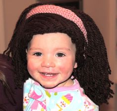 Baldy Baby Hat – Crochet Pattern