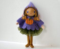 Fairy Bendy Doll by Princess Nimble-Thimble Waldorf by PNTdolls