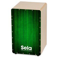 The Sela Varios Green cajon.