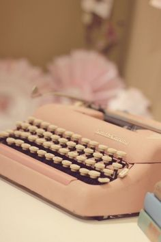 I will own a functioning typewriter and I will use it for creative writing.
