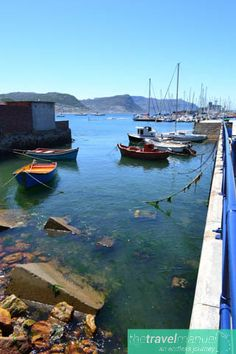 small boats moored in Simonstown Harbour, Cape Town. #capetown #westerncape #southafrica