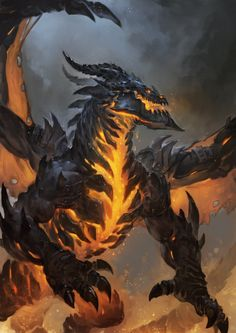 DeathWing by thiago-almeida dragon monster beast creature animal | Create your own roleplaying game material w/ RPG Bard: www.rpgbard.com | Writing inspiration for Dungeons and Dragons DND D&D Pathfinder PFRPG Warhammer 40k Star Wars Shadowrun Call of Cthulhu Lord of the Rings LoTR + d20 fantasy science fiction scifi horror design | Not Trusty Sword art: click artwork for source