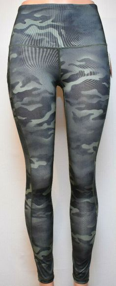 05c56bbab6 Reebok Precision Highrise 7/8 Legging Athletic Running, Camo Color #Reebok