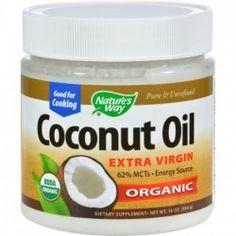 Nature's Way EfaGold Coconut Oil - 16 fl oz @ sourcesfornutrition.com
