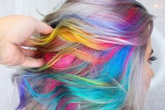 Everyone is going WILD for rainbow colors, and it's easy to understand why! Whether you go bold and vivid or soft and subtle, this color trend is hands down the coolest way to have hair that is truly unique to you.