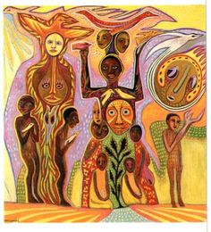 Osuns Children by Betty LaDuke