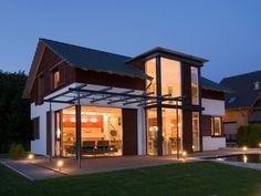 Die 29 Besten Bilder Von Musterhaus Houses Gable Roof Und House