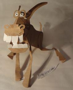 burro de papel