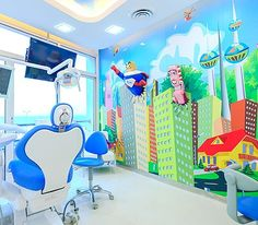 So sweet, Jungle Themed Dental Office.www.prodental.com
