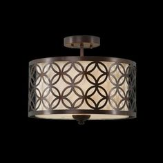 Description Material: Metal Color: Brown Size: Diametre - 16 inch Height - Inch Light: Bulb or LED (Not included) Light Decorations, Shades, Light, Drum Shade, Ceiling, Metal, Bulb, Crystal Chandelier Kitchen, Ceiling Lights