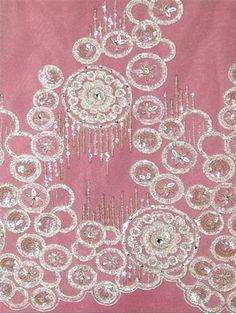 Beautiful vintage art deco wedding dress lace.
