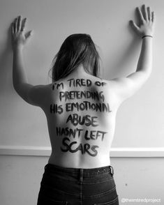 "1,164 Likes, 15 Comments - The ""I'm Tired"" Project (@theimtiredproject) on Instagram: """"I'm tired of pretending his emotional abuse hasn't left scars. ""He was my first boyfriend, and had…"""