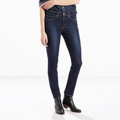 Every woman's wish list for the perfect pair of skinnies: coveted shape-holding stretch, supreme comfort and unmatched recovery. With that in mind, we sought out premium four-way stretch denim and constructed a jean that moves with you in every direction and hugs your figure in all the right ways. Best of all, the fabric is engineered for performance and superior recovery, so these jeans won't sag or lose their shape. Bottom line — you'll enjoy a