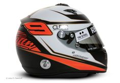 Kimi Raikkonen helmet, Lotus, 2012