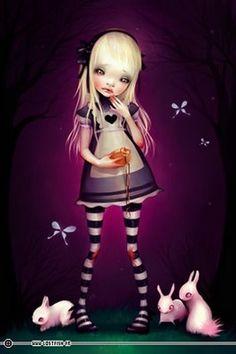 Awww Alice. Lostfish.