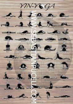 Yin yoga:  Meditate while enhancing physical flexibility.