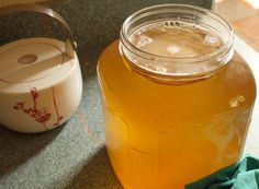 How to Make Kombucha Tea: already have scoby...time to brew:)