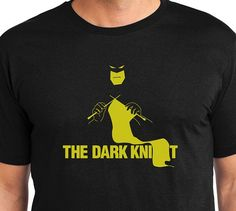 The Dark Knit Batman Knitting Unisex Super Soft Tee on Etsy