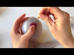 We are so excited to launch our new needle felted bowl tutorial. We hope this inspires folks to try needle felting once they see how simple and quick this project can be.  This video demonstrates how to get started with the wool roving and foam ball and all the way to finishing with the dots. No fingers were hurt du
