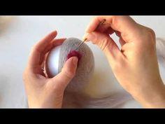 Needle Felted Bowl Tutorial - YouTube