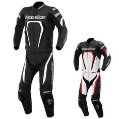 2015 Alpinestars Mens Motegi Leather Two Piece Street Gear Motorcycle Race Suits Motorcycle Wear, Motorbike Leathers, Biker Gear, Bike Stuff, Motorbikes, Racing, Tech, Suits, Street