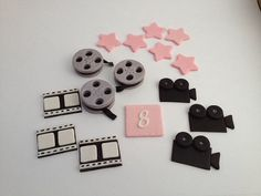 Movie Themed Cake and/or Cupcake Toppers  by SoSweetToppers, $25.00